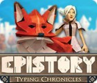 Epistory: Typing Chronicles spēle