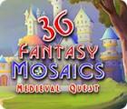 Fantasy Mosaics 36: Medieval Quest spēle