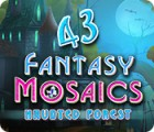 Fantasy Mosaics 43: Haunted Forest spēle
