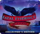 Fatal Evidence: Art of Murder Collector's Edition spēle