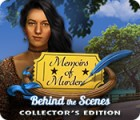 Memoirs of Murder: Behind the Scenes Collector's Edition spēle